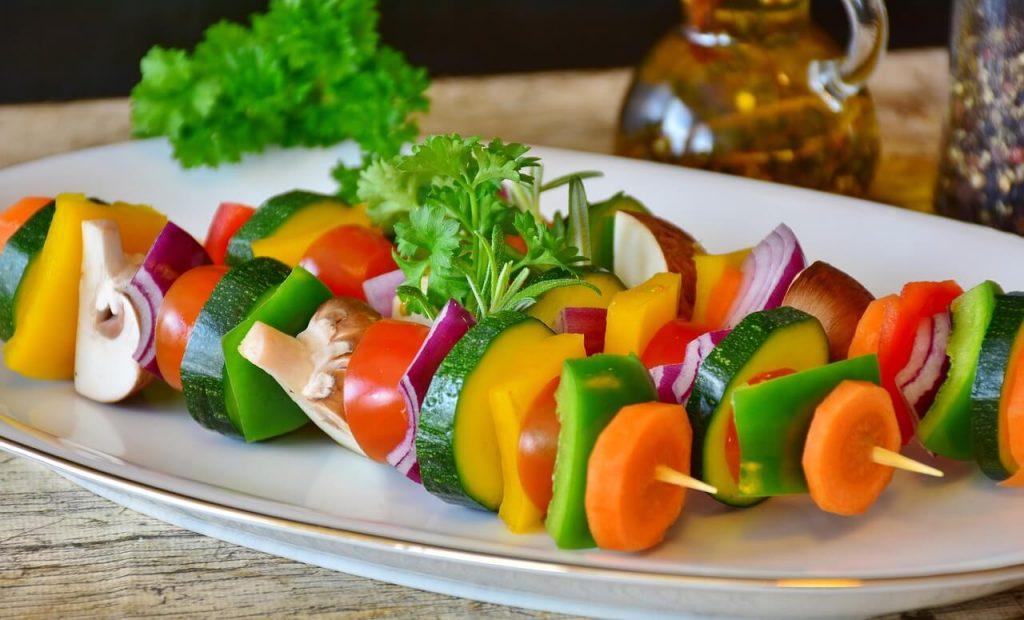 Recette: Brochette de légumes grillés