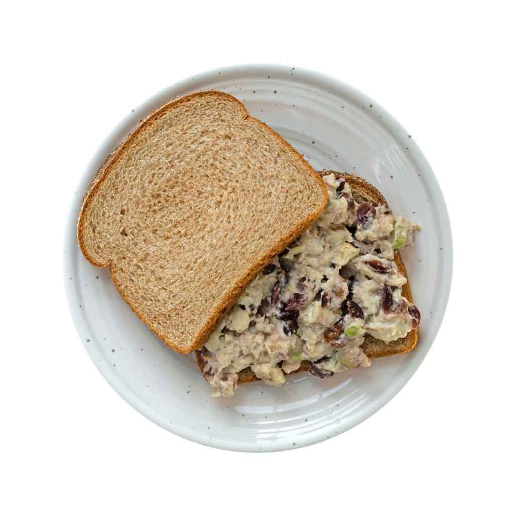 2 sur 251 Recette de sandwich au thon ou saumon aux canneberges