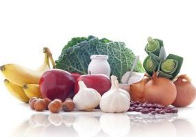 Prebiotic range of foods including dairy, fruits, vegetables and pulses